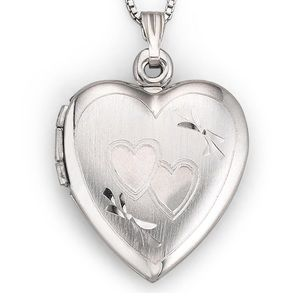 Silver 925 heart locket✨
